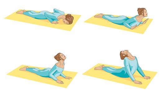 Yoga Postura cobra